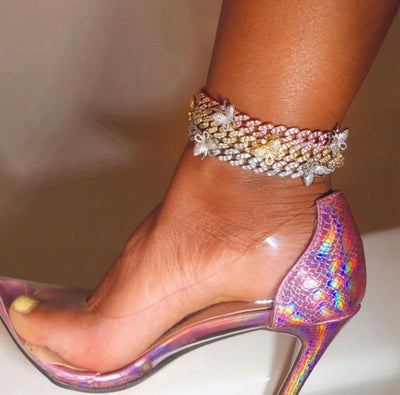 Cuban Butterfly Anklet