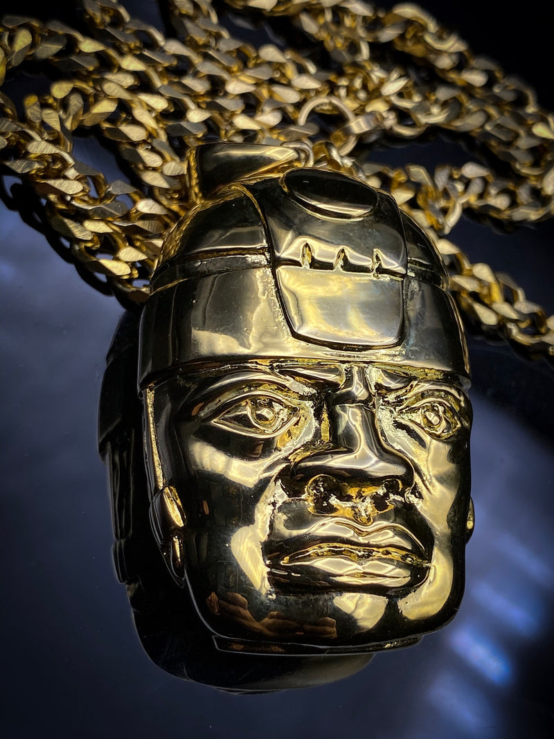 Olmec Head Chain