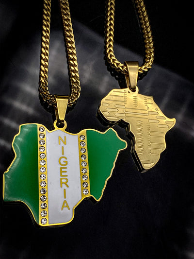 Nigeria Flag Chain