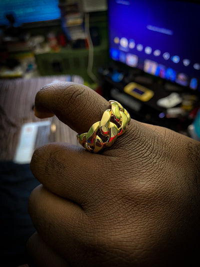 Cuban Gold Ring