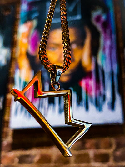 Crown Basquiat Chain