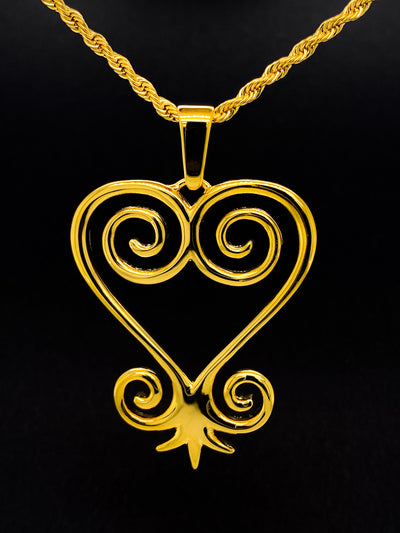 Sankofa Adinkra Necklace