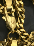 Franco Ankh Gold Chain Bundle