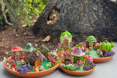 DIY: How to Make a Fairy Garden and Gnome Home