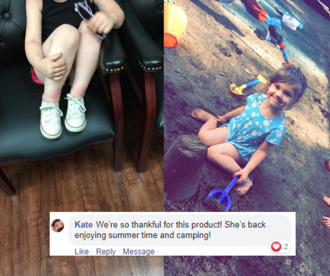 Bug Bite Thing testimonial via Kate