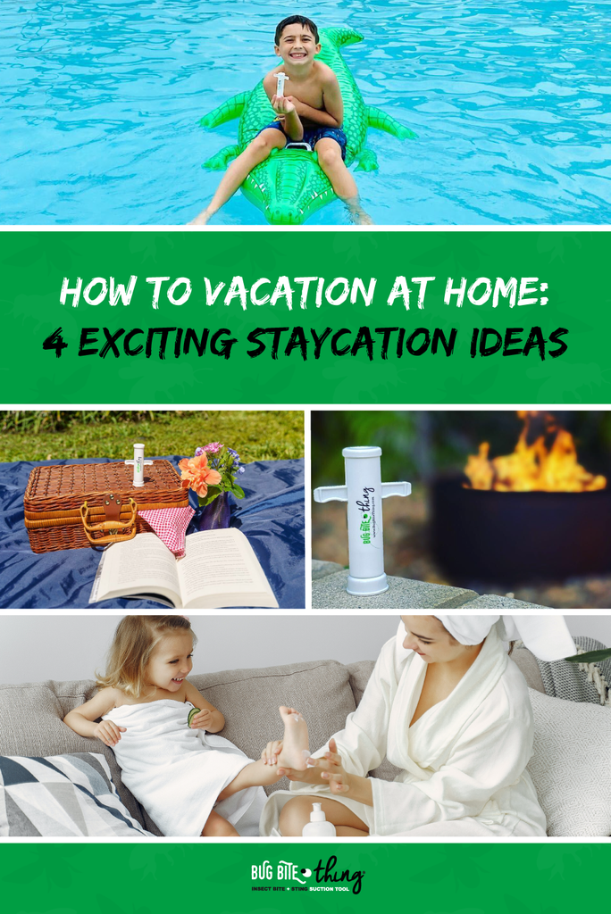 Pin it: How to Vacation at Home