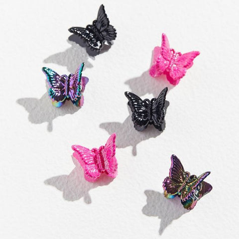 Urban Outfitters Butterfly Clips
