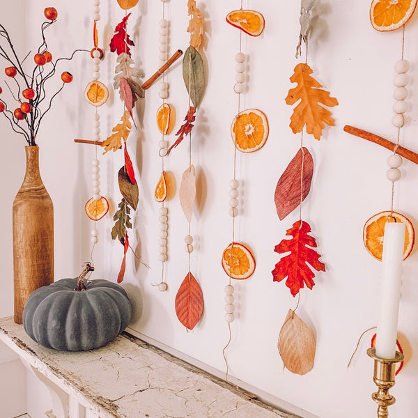 Fall garland by Life by Leanna