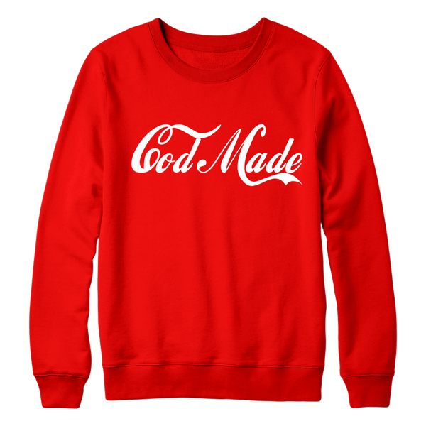 God Made Coke Edition Sweater
