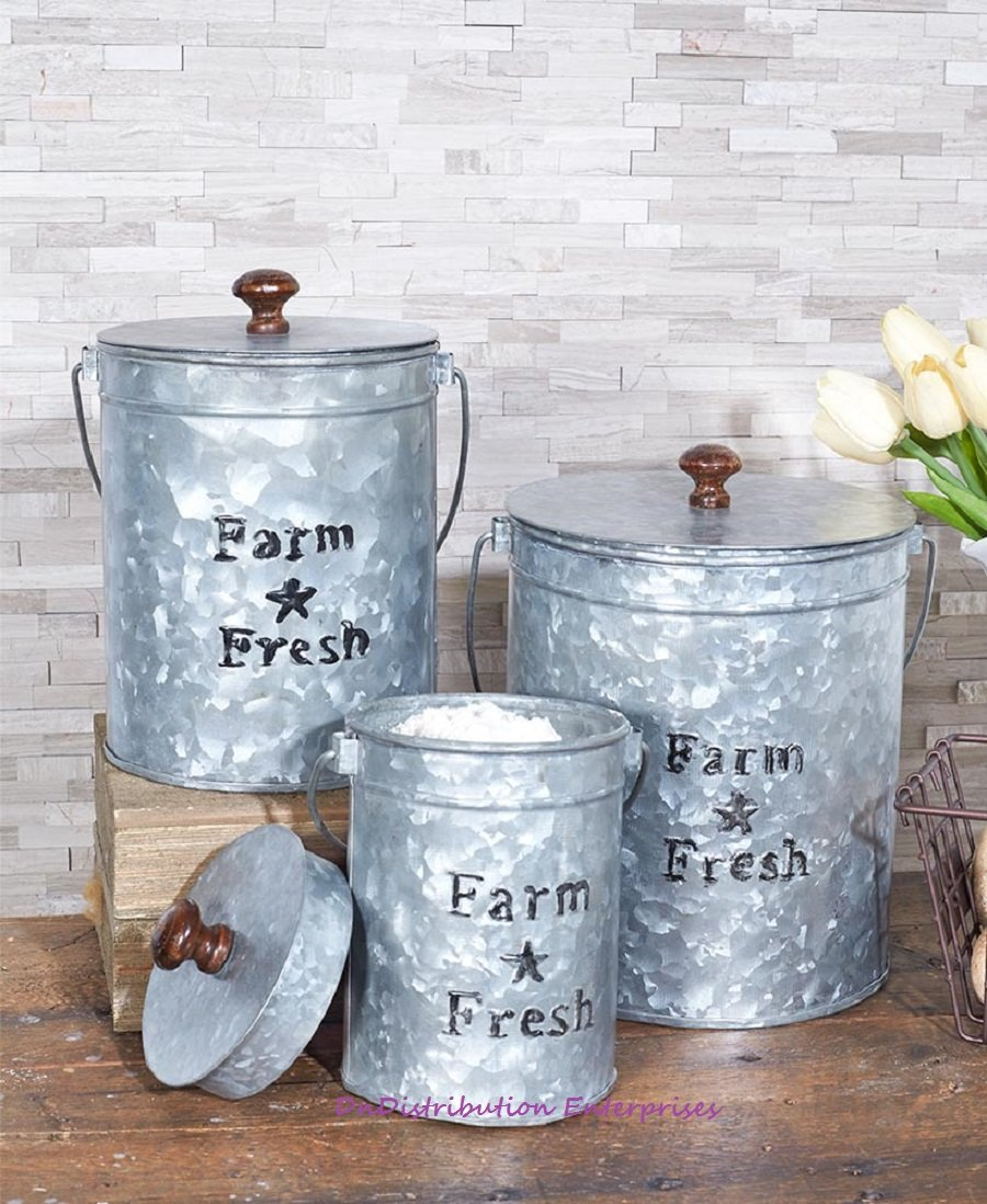 Canisters, Jars, Storage