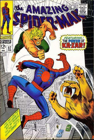 Amazing Spiderman #57 (1968)