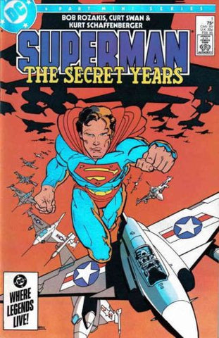 Superman The Secret Years (1985) #1 2 3 4 Complete Set