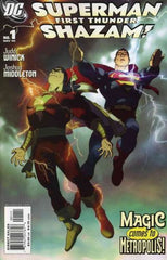 Superman Shazam First Thunder (2005) #1 2 3 4 Complete Set