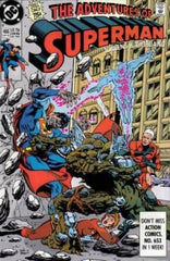 Adventures of Superman (1987) #466 1st Hank Henshaw (Cyborg Superman)