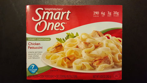 Smart Ones Chicken Fettuccini Alfredo