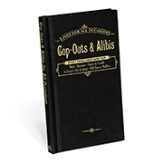 Cop-Outs & Alibis Book - Great Secret Santa Gifts Under $20