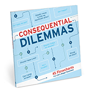 Consequential Dilemmas Flowchart Book - Great Gifts Under $25