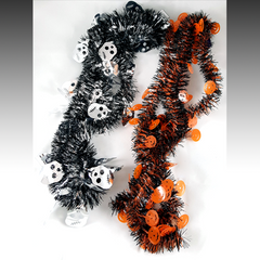 Halloween Tinsel Garlands