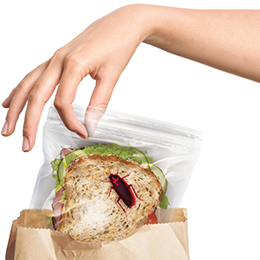 Lunch Bugs Sandwich Bags - Great Secret Santa Gifts Under $20