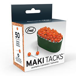 Maki Tacks Sushi Pushpins - Great Secret Santa Gifts Under $20