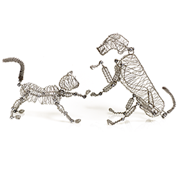 Whiskers and Rover The Doodles Cat and Dog - Great Secret Santa Gifts Under $20