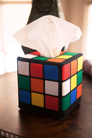 Magic Cube Tissue Box