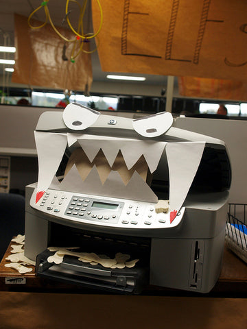angry printer