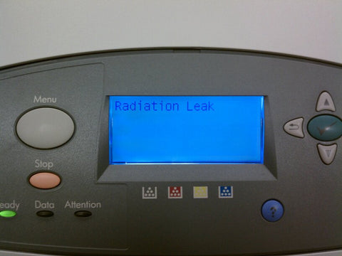 Printer Radiation Leak Funny
