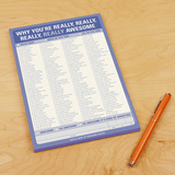 """Why You're Really, Really Awesome"" Notepad"