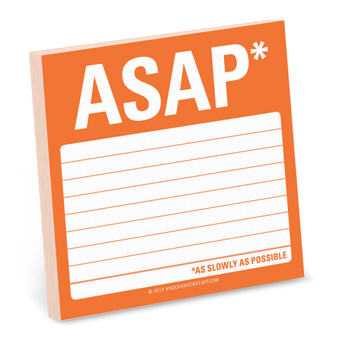 Sticky Notes - ASAP*