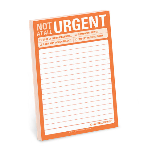 "Sticky Notes (Big) - ""Not At All Urgent"""