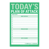 "Sticky Notes (Big) - ""Today's Plan of Attack"""