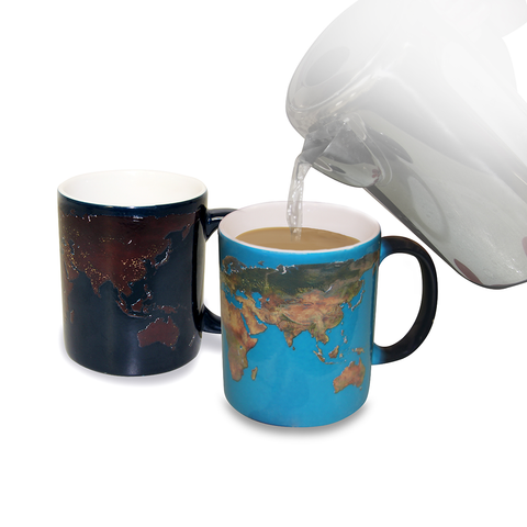 Coffee Mug (Heat-Sensing):  Day and Night