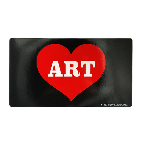 Sticker - Heart Art