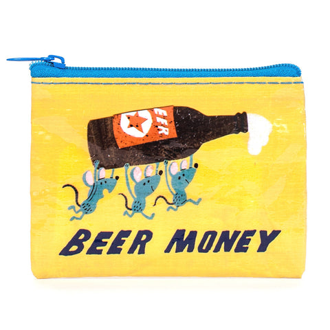 """Beer Money"" Coin Purse"