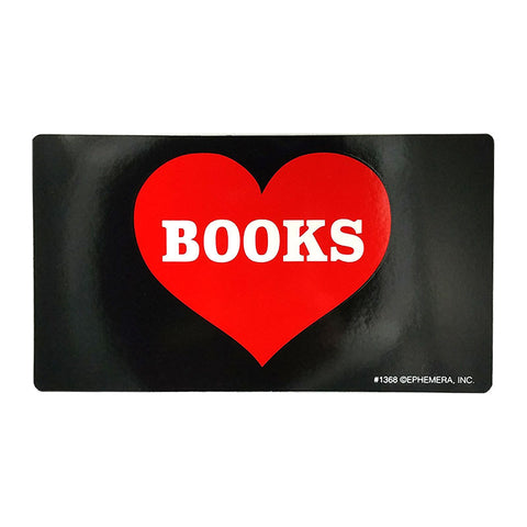 Sticker - Heart Books