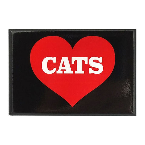 Magnet - Heart Cats