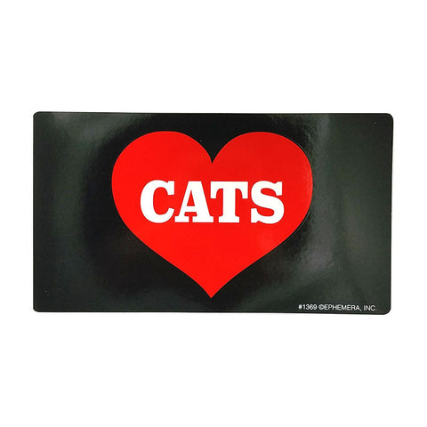 Sticker - Heart Cats