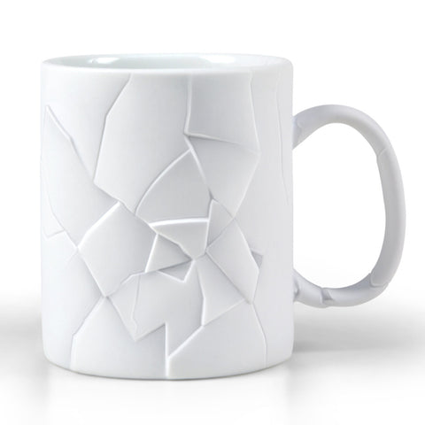 Cracked Up Shattered Coffee Mug