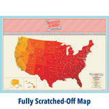 Scratch Map - USA