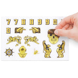 Just Your Type - Gold Foil Sticker Book