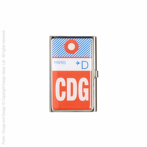 Jetsetter Card Holder - CDG Paris