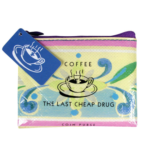 Coffee - The Last Cheap Drug Coin Purse