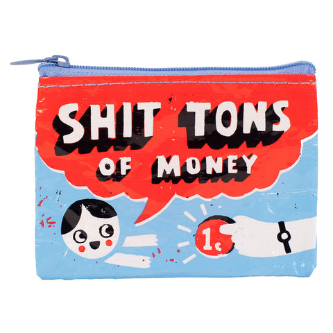 """Sh*t Tons of Money"" Coin Purse"