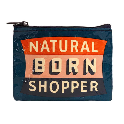 """Natural Born Shopper"" Coin Purse"