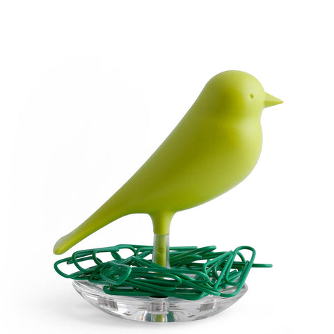 Sparrow Nest Paperclips Set (Green)