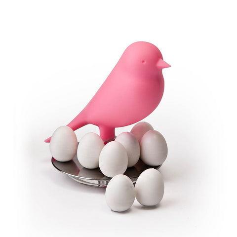 Sparrow Egg Magnets Set (Pink)