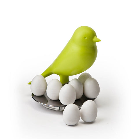 Sparrow Egg Magnets Set (Green)