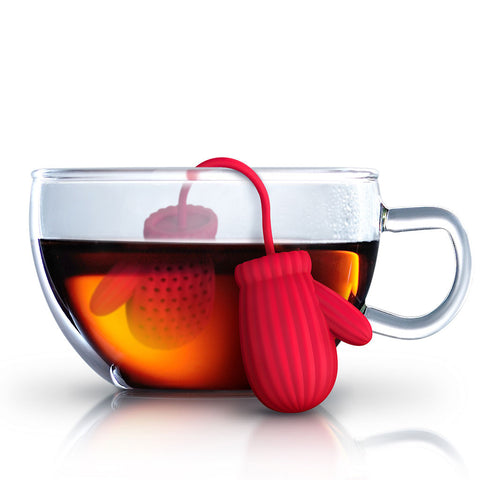 Tea Infuser: Cozy Cup Mittens