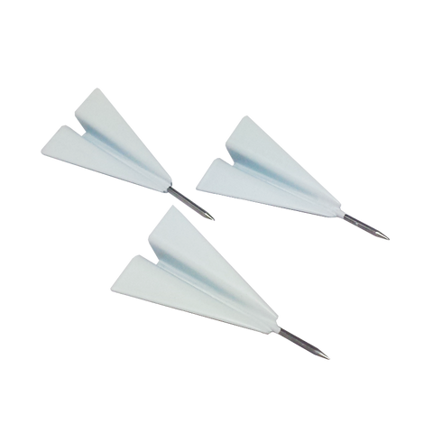 Paper Airplane Pushpins